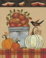 Tin Bucket of Apples Fine Art Print