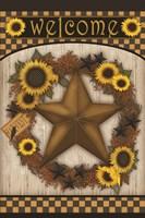Welcome Barn Star Fine Art Print