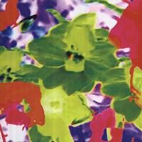 Fluo Flowers Fine Art Print