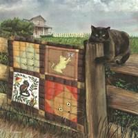 Quilt Cat Fine Art Print