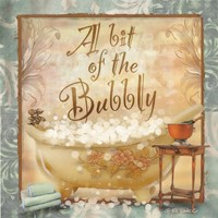 A Bit of the Bubbly Fine Art Print