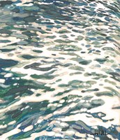 Frothing Wave Turning Fine Art Print