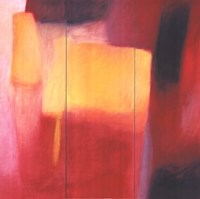 """Yellow Square Regret by Christine Morin - 28"""" x 28"""""""
