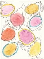 So Many Pears Fine Art Print