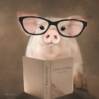 Creative Cooking Pig Fine Art Print