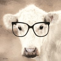See Clearly Cow Fine Art Print