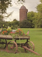 Clayton Flower Wagon Fine Art Print