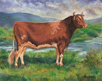 The Prize Bull Fine Art Print