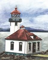 Lime Kiln Lighthouse Fine Art Print