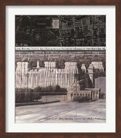 Wrapped Reichstag Project for Berlin Fine Art Print