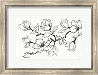 Flower Drawing Fine Art Print