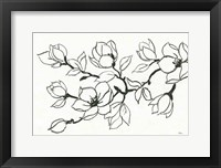 Flower Drawing Fine Art Print