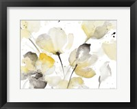 Neutral Abstract Floral I Fine Art Print