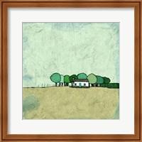 Tiny Green Home Fine Art Print