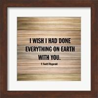 Wishes on Wood Fine Art Print