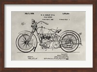 Patent--Motorcycle Fine Art Print