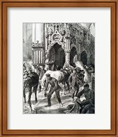 WORLD WAR I (1914-1918) The Occupation Of Aerschot By The Germans Fine Art Print