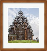 Kizhi Pogost Wooden Church In Lake Onega Karelia Russia Fine Art Print