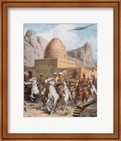 Second World War Entry Of Italian Troops In Cassalla (1940) Fine Art Print