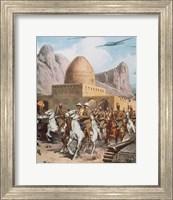 Second World War Entry Of Italian Troops In Cassalla (1940) Fine Art Print