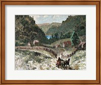 Canadian Landscape In The Eighteenth Century 19th-Century Fine Art Print