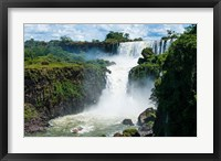 Largest Waterfalls, Foz De Iguazu, Argentina Fine Art Print