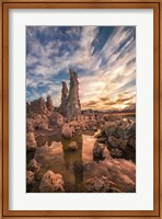 Tufas At Sunset On Mono Lake Fine Art Print