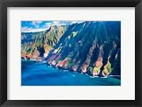Kauai Coastline, Hawaii Fine Art Print