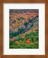 Big Carp River, Porcupine Mountains Wilderness State Park, Michigan Fine Art Print