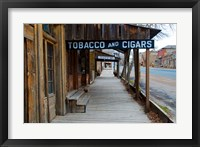 Tobacco Gold Rush Store In Virginia City, Montana Fine Art Print