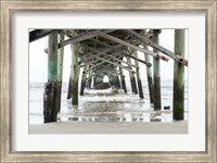 Oceanic Pier, Wilmington, North Carolina Fine Art Print