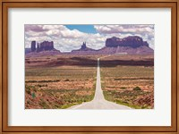 Road Through Monument Valley Fine Art Print