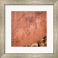 Fremont Pictoglyph Panel, Utah Fine Art Print