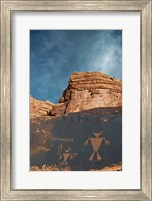 Duck Headed Man Petroglyph, Cedar Mesa, Utah Fine Art Print
