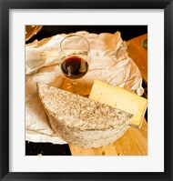 Wine And Artisanal Cheese Event At A Tasting Room Fine Art Print