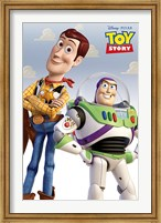 Toy Story - Woody and Buzz Wall Poster