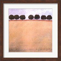 Grandpa's Seven Peach Trees Fine Art Print