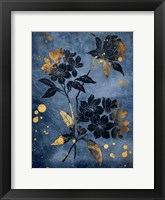 Gold Hint Floral Fine Art Print