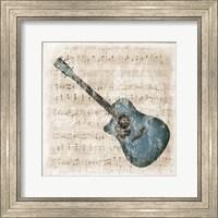 Acoustic Blues Fine Art Print