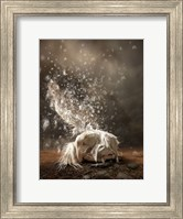 White Butterfly Fairy Fine Art Print