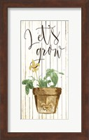 Lets Grow Cream Fine Art Print