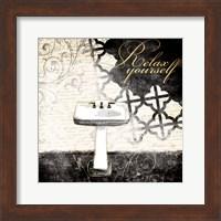 Relax Yourself Sink Fine Art Print