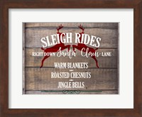 Sleigh Rides Fine Art Print