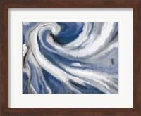 Indigo Swirl Fine Art Print