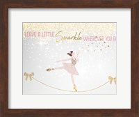 Leave a LIttle Sparkle v1 Fine Art Print