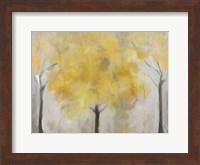 Yellow Grove Fine Art Print