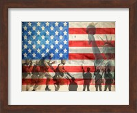 The Red White and Blue Fine Art Print