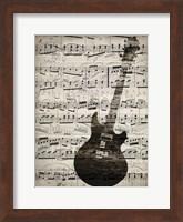 Music Sheets 3 Fine Art Print