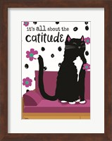 It's All About the Cattitude Fine Art Print