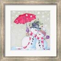 Snow Couple Fine Art Print